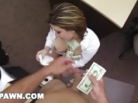 XXX PAWN-Some Guy es Wife Fucks A Stranger For $900 In A Dank Back Room.
