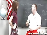 Teacher punishes student